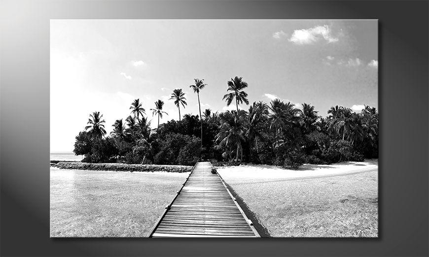 Druk na p?ótnie Tropical Maldives