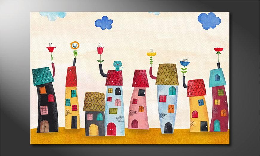 Fairytale Town Obraz