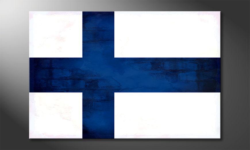 Finlandia Obraz