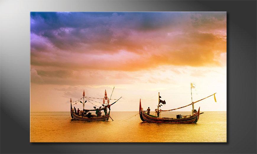 Fishing Boats Obraz