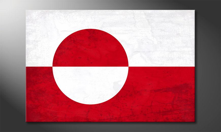 Grönland Obraz