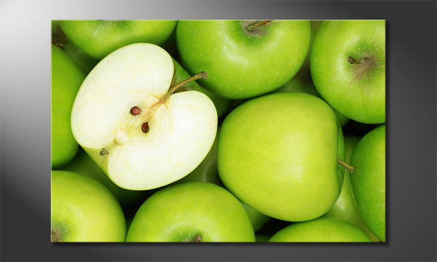 Green Apples Obraz
