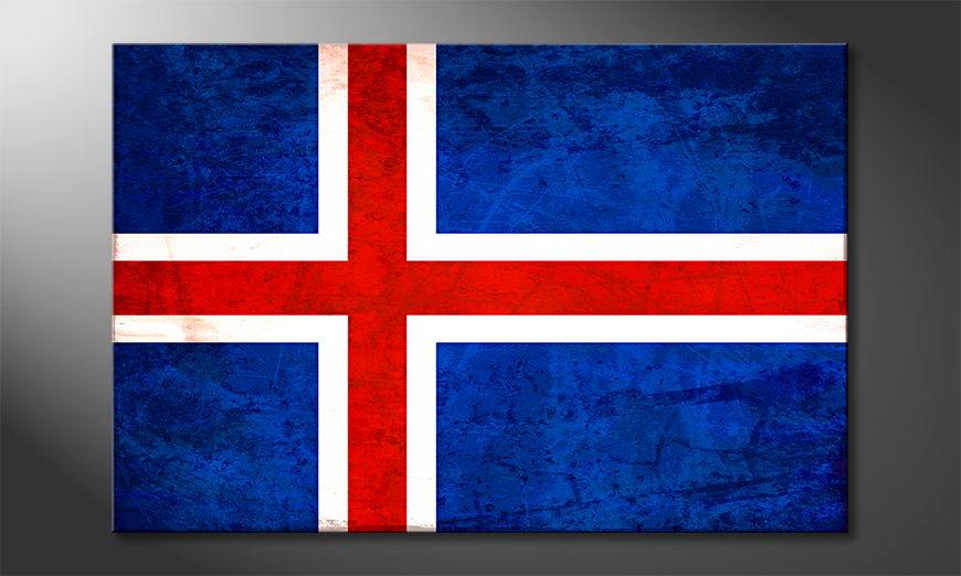 Islandia Obraz