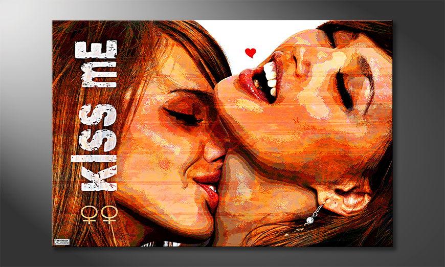 Kiss Me Obraz