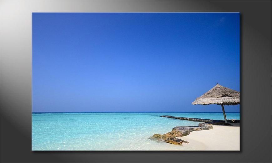 Maledives Beach Obraz