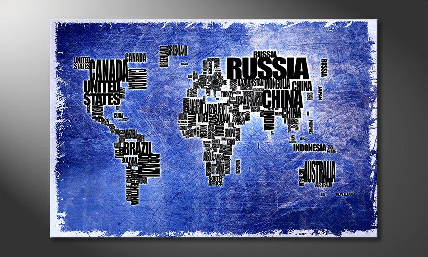 Mapa ?wiata 2 Obraz