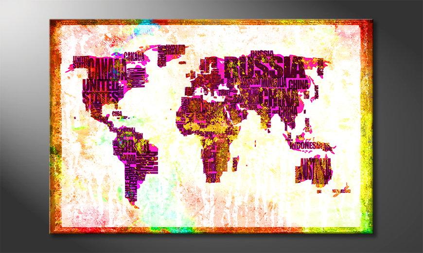 Mapa ?wiata 3 Obraz