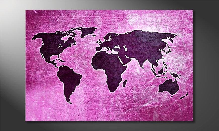 Mapa ?wiata 4 Obraz