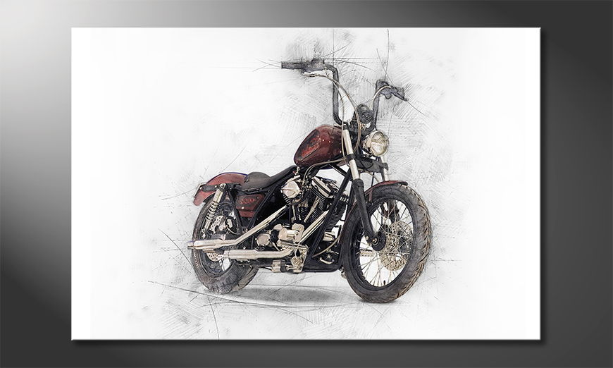 Motorbike Obraz