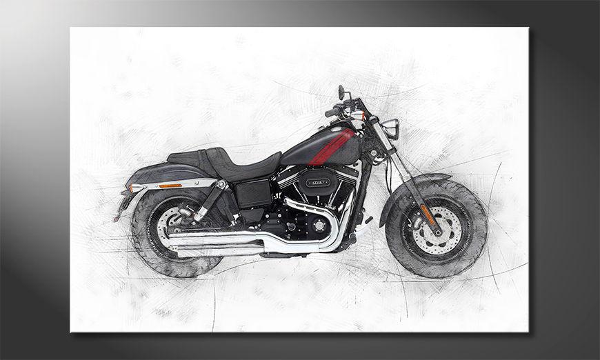 Motorbike uno Obraz