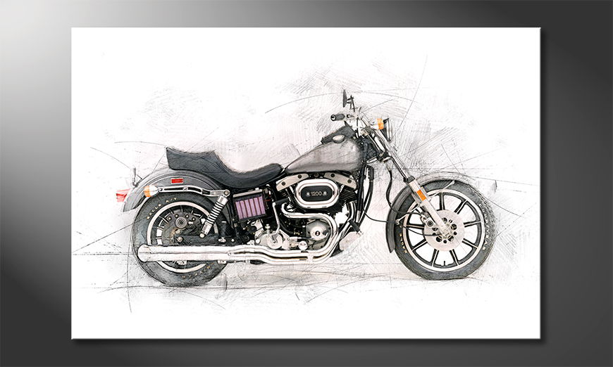 Motorcycle Obraz