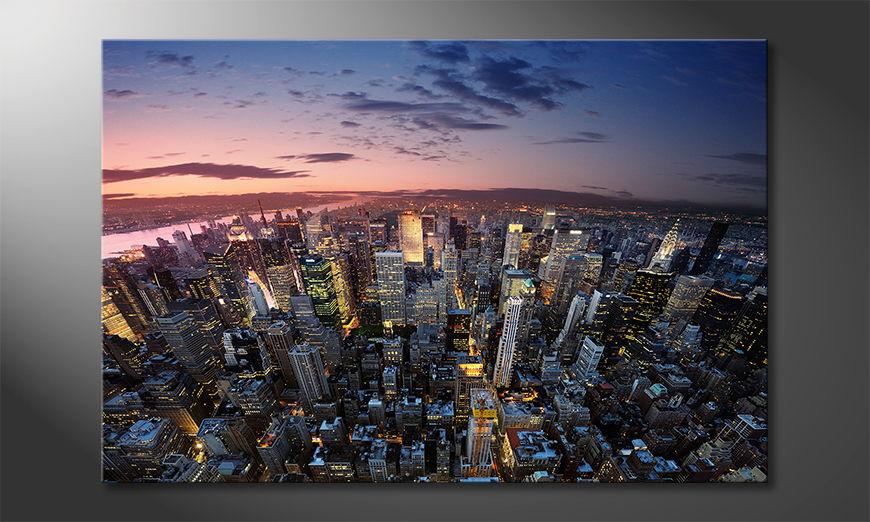 New York Sky Obraz