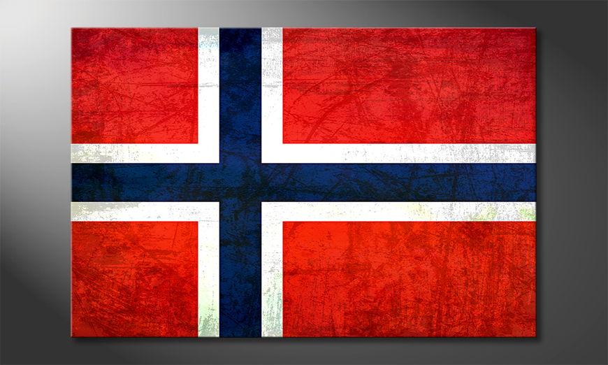 Norvegia Obraz