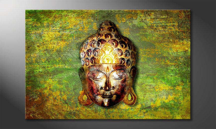 Nowoczesne obraz Buddah Head