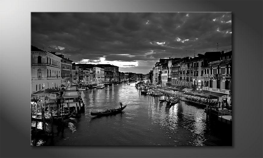 Nowoczesne obraz Canale Grande