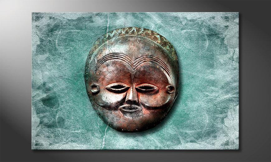Nowoczesne obraz Luna Face