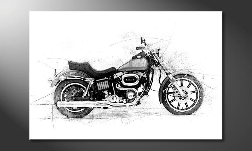 Nowoczesne obraz Motorcycle