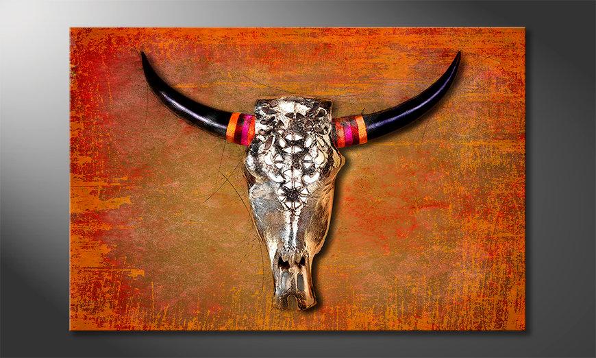 Nowoczesne obraz The Mexican