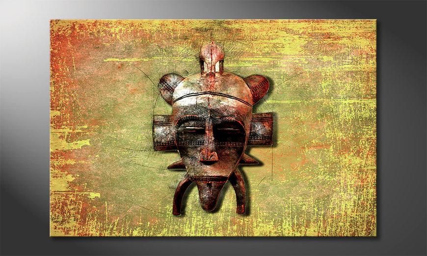 Nowoczesne p?ótnie Tribal Lord
