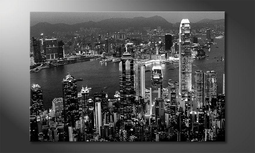 Nowoczesny wystrój Hongkong View