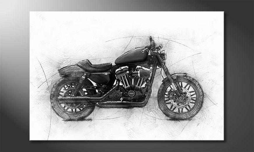 Nowoczesny wystrój Motocycle Uno