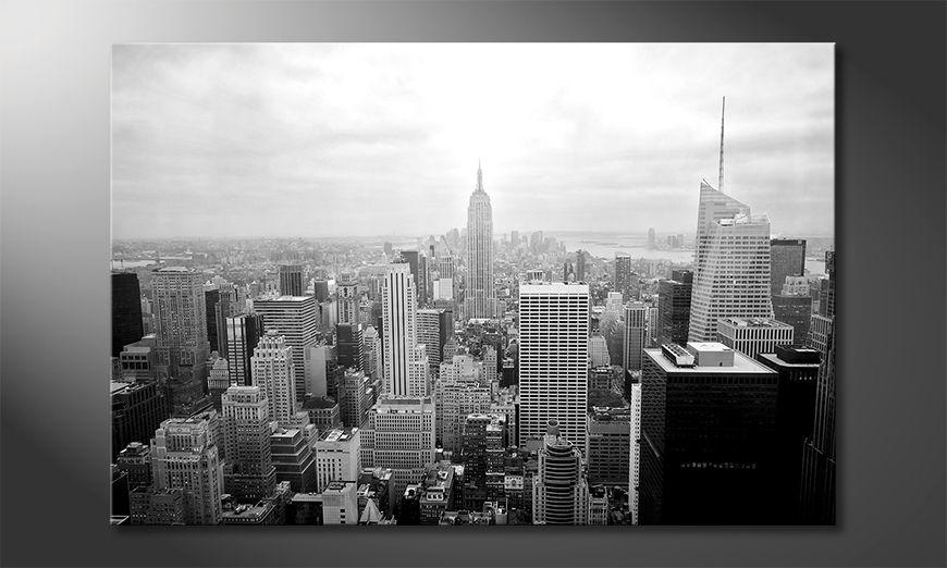 Nowoczesny wystrój New York Retro