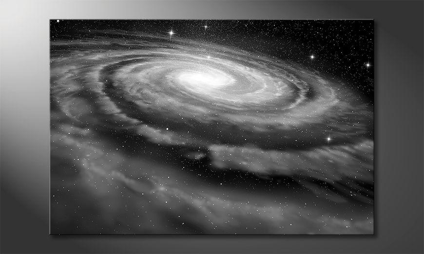 Nowoczesny wystrój Spiral Galaxy
