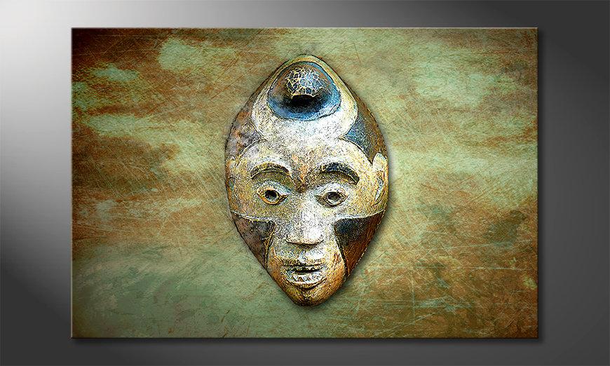 Obraz Afro Head
