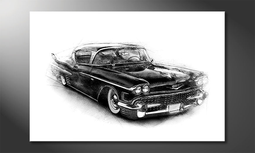Obraz Black Car