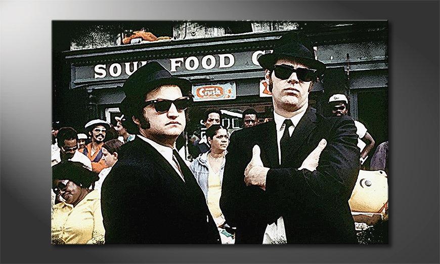 Obraz Blues Brothers Moment