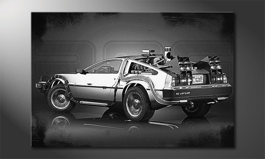 Obraz DeLorean