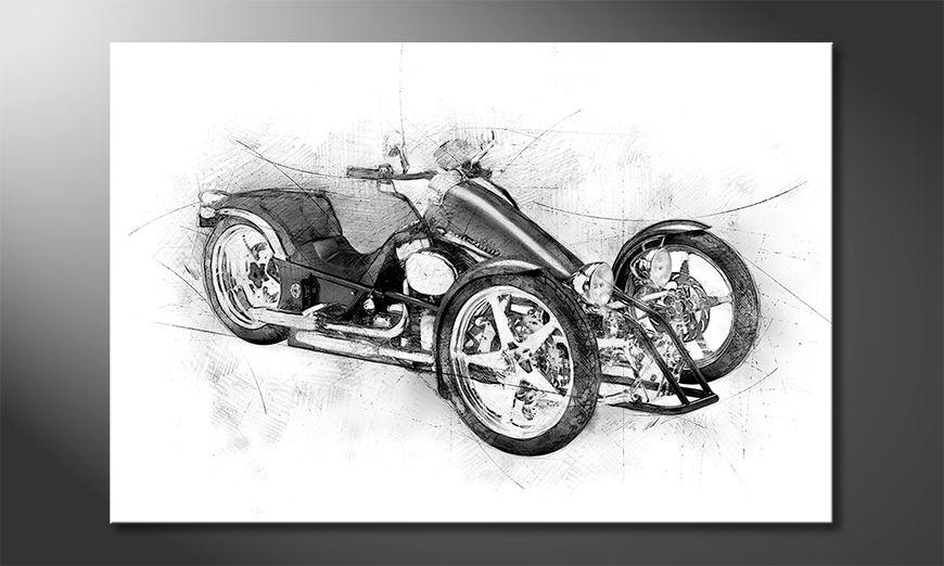 Obraz Motorcycle Five