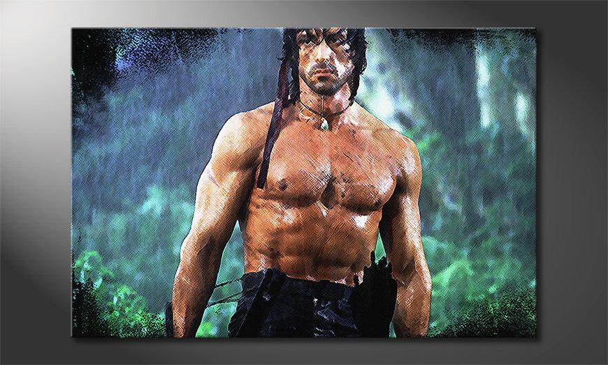 Obraz Rambo Moment