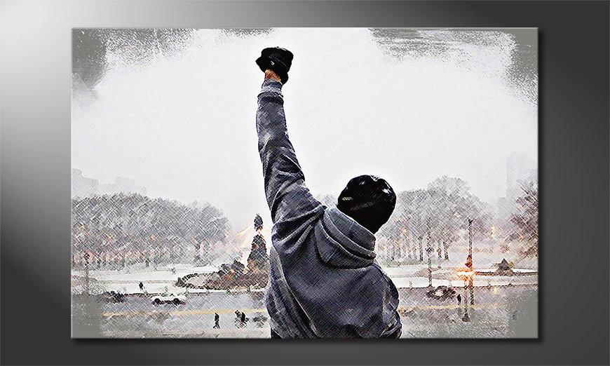 Obraz Rocky Moment