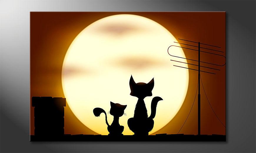 Obraz Romantic Cats