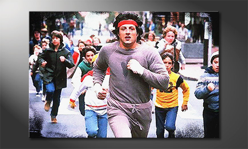 Obraz Run Rocky Run