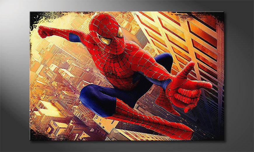 Obraz Spiderman Moment