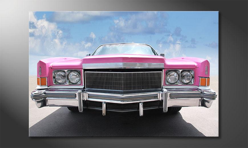 Pink Cadillac Obraz