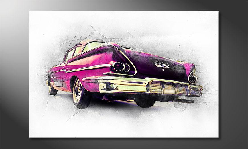 Pink Chevrolet Obraz