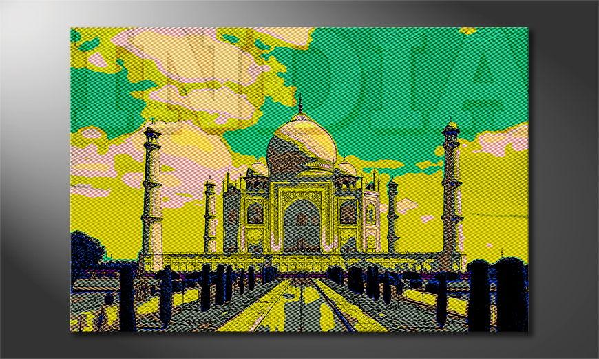 Taj Mahal Obraz