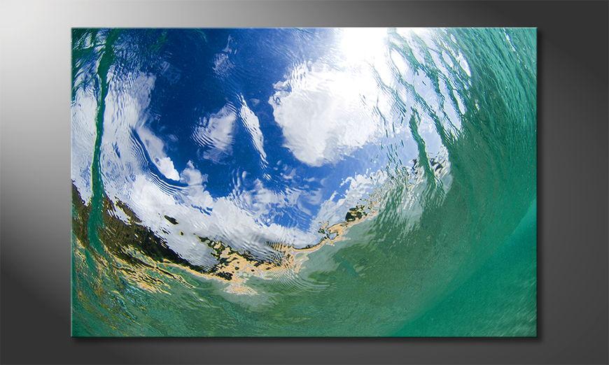 Underwater Sky Obraz