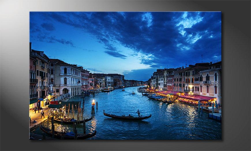 Venice Sunset Obraz