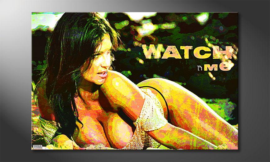 Watch Me Obraz