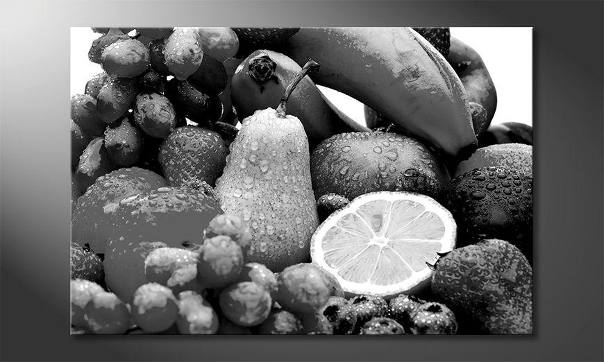 Wydrukowany obraz Fruits