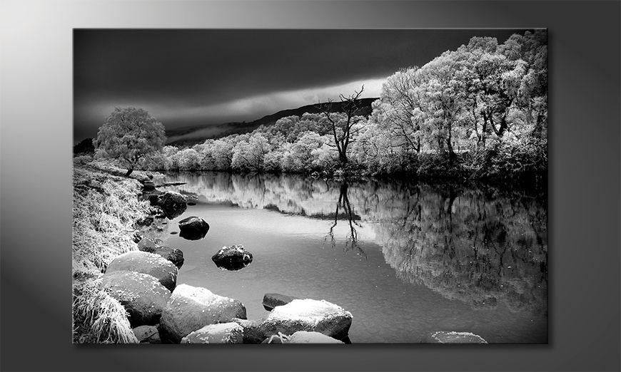 Wydrukowany obraz Mystic River