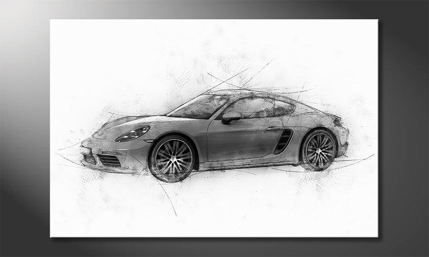 Wydrukowany obraz Pure Speed