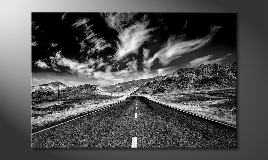 Wydrukowany obraz Road To Himalaya