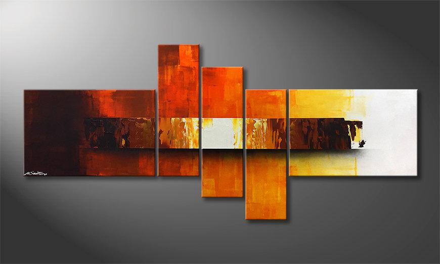 Ładne malowanie Fiery Illumination 210x80x2cm