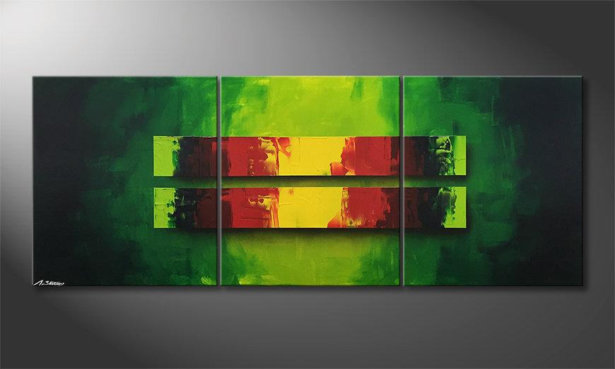 Malarstwo na płótnie Jungle Fever 180x70x2cm