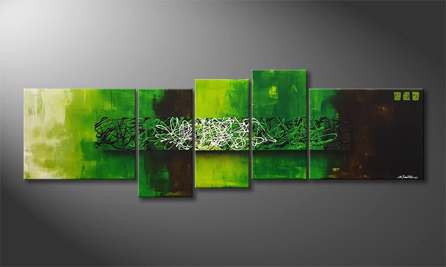 Malarstwo na płótnie Natural Mind 210x70x2cm